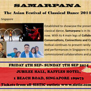 Samarpana the Asian festival of Classical Dance Press release June 2014
